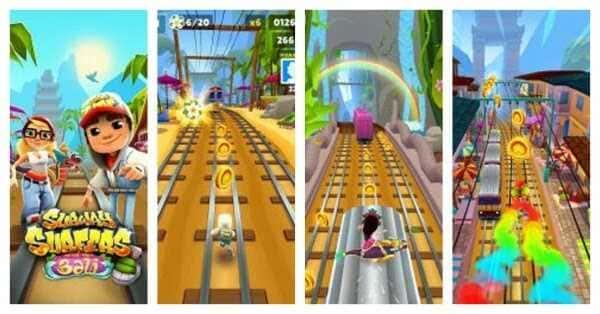 تحميل لعبة صب واي سيرفرس Subway Surfers مجانا للانرويد