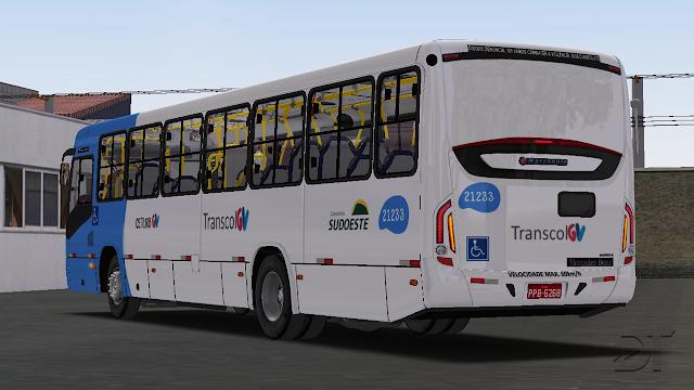 OMSI 2 - Marcopolo Torino 2014 MB OF-1721 BT5 padrão Transcol