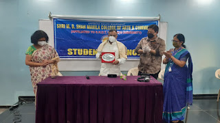 श्री एम. डी. शाह महिला कॉलेज का वार्षिकोत्सव संपन्न | #NayaSaberaNetwork