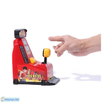 Mini Working Finger Boxing Arcade Toy