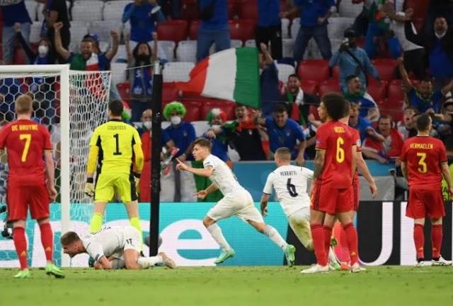 Βέλγιο-Ιταλία 1-2 :  Forza Ragazzi !!!