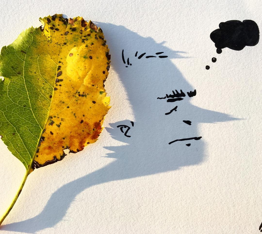 16-Leaf-me-alone-Vincent-Bal-Drawing-with-Shadows-of-Everyday-Things-www-designstack-co