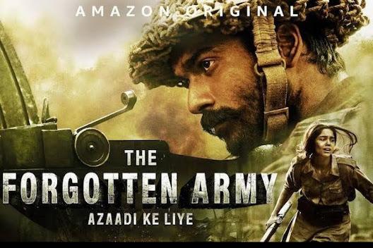 The Forgotten Army - 10 Best Amazon Prime Hindi web series to Binge-watch