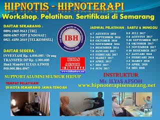 Sertifikasi Hipnoterapi Semarang