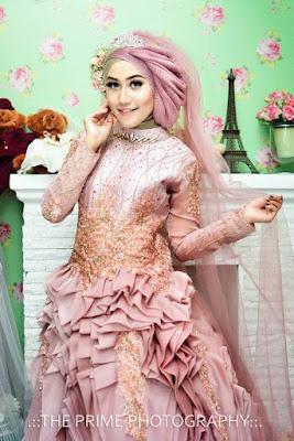 Model Busana Pernikahan dengan Hijab yang Terbaru