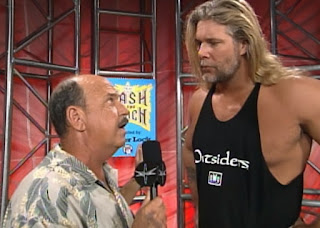 WCW Bash at the Beach - Mean Gene Okerlund interviews Kevin Nash