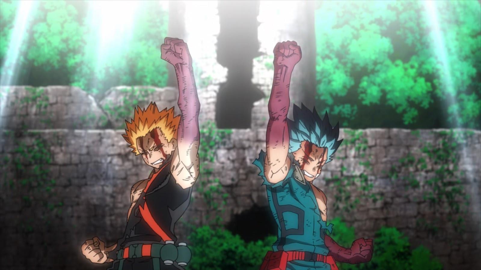Boku no Hero Academia the Movie 2: Heroes:Rising BD 10-Bit Subtitle Indonesia