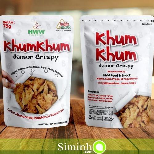 KhumKhum Jamur Crispy - HWW Food & Snack