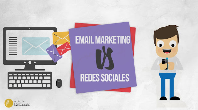 Email marketing vs redes sociales
