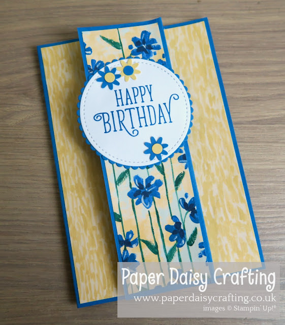 Garden Impressions Fancy Fold card Stampin' Up!