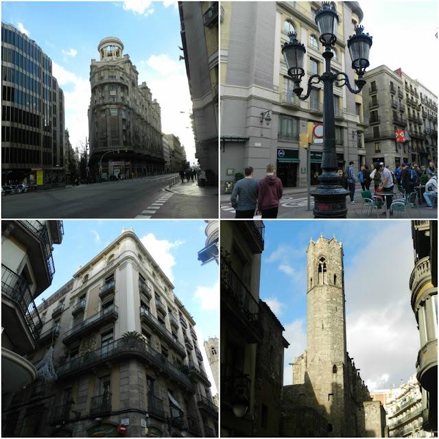 Praças para curtir Barcelona - Plaça del´Angel