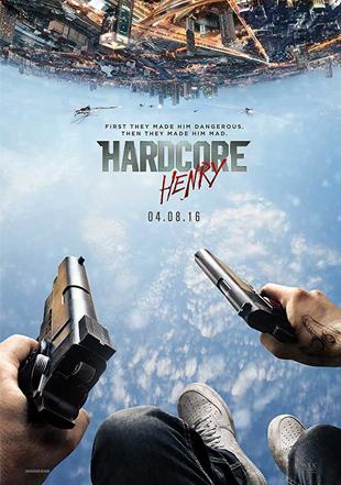 Hardcore Henry 2015 Full English Movie Download BRRip 720p