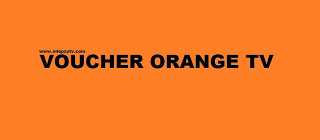 Voucher Orange TV Online