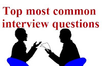 Top most common interview questions- image