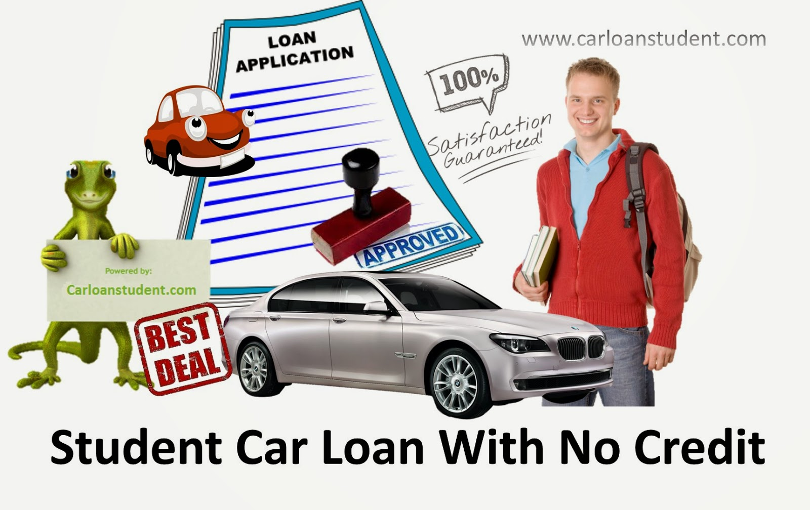 Small Student Car Loans To Purchase Car Knowing All Requirements To Get Lowest Rates ~ Student ...