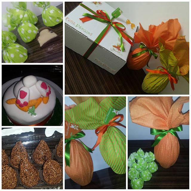 Festa na Caixa + Ovos de Páscoa - Tema Páscoa