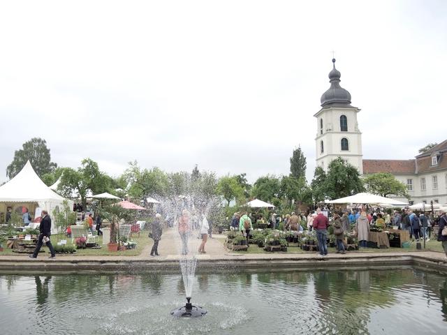 Blick auf Schloss Eichenzell