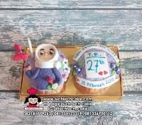 Cupcake Fondant 2d Isi 2 Untuk Cewek