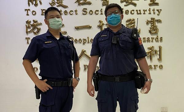 憂鬱少年吞藥欲輕生 田中警察獲報及時搶救送醫