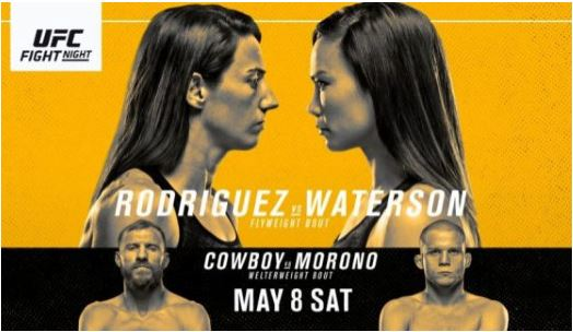 Watch UFC Fight Night Rodriguez vs Waterson 5/8/2021 Live Stream