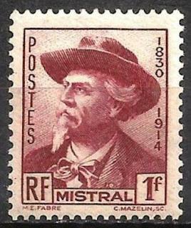 France 1941 Frederic Mistral