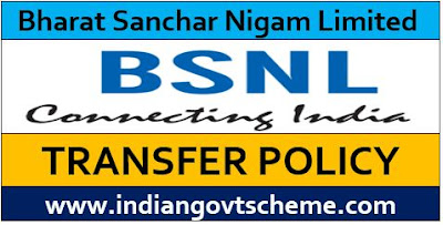 TRANSFER POLICY IN BSNL