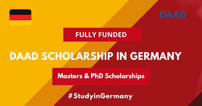 منحة DAAD ألمانيا للدراسات العليا المتعلقة بالتنمية 2021-22 (ممولة بالكامل) رواتب شهرية تبلغ 1200 يورو