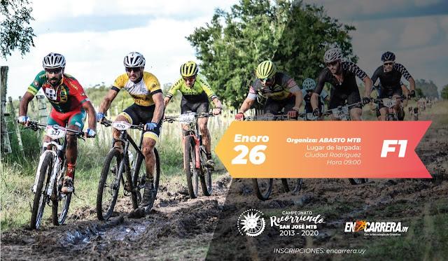 MTB - Circuito ABASTO en Ciudad Rodríguez (Recorriendo San José MTB - 26/ene/2020)