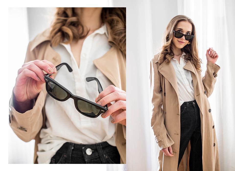 How to wear long and flowy trench coat - Kuinka pukea pitkä ja liehuva trenssitakki