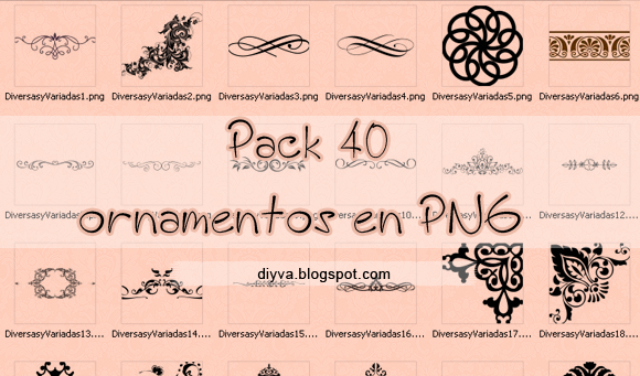 pack, recursos, ornamentos, ornaments, png, free, download