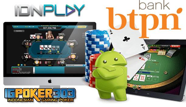 Cari Deposit Poker Bank Btpn Jenius Igpoker303 Tempatnya