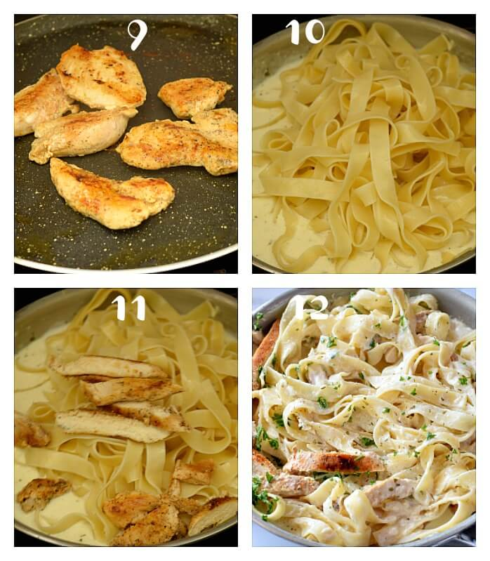 how to make best homemade chicken alfredo
