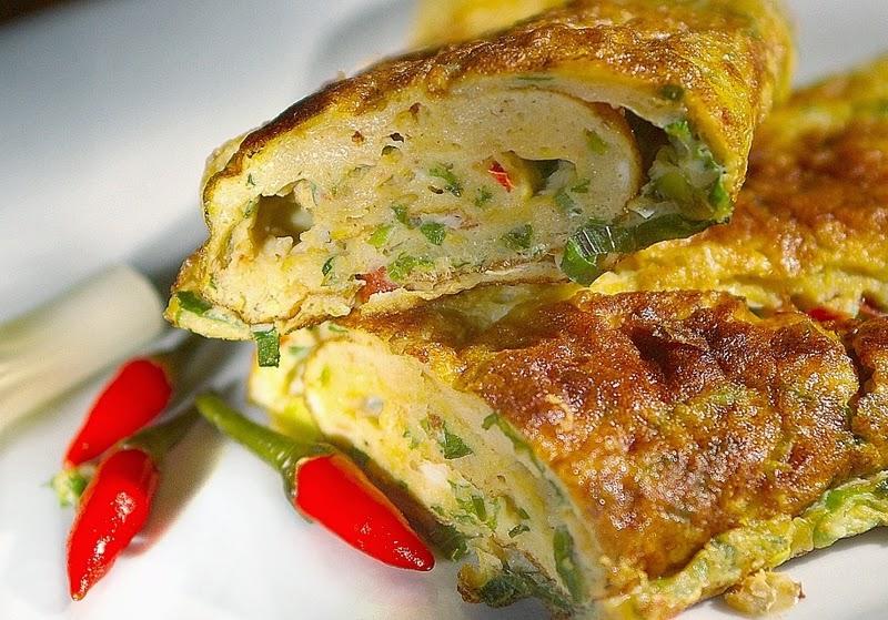 resep telur dadar, cara mmebuat telur dadar, cara memasak telur dadar, dadar telur mentega, bahan telur dadar