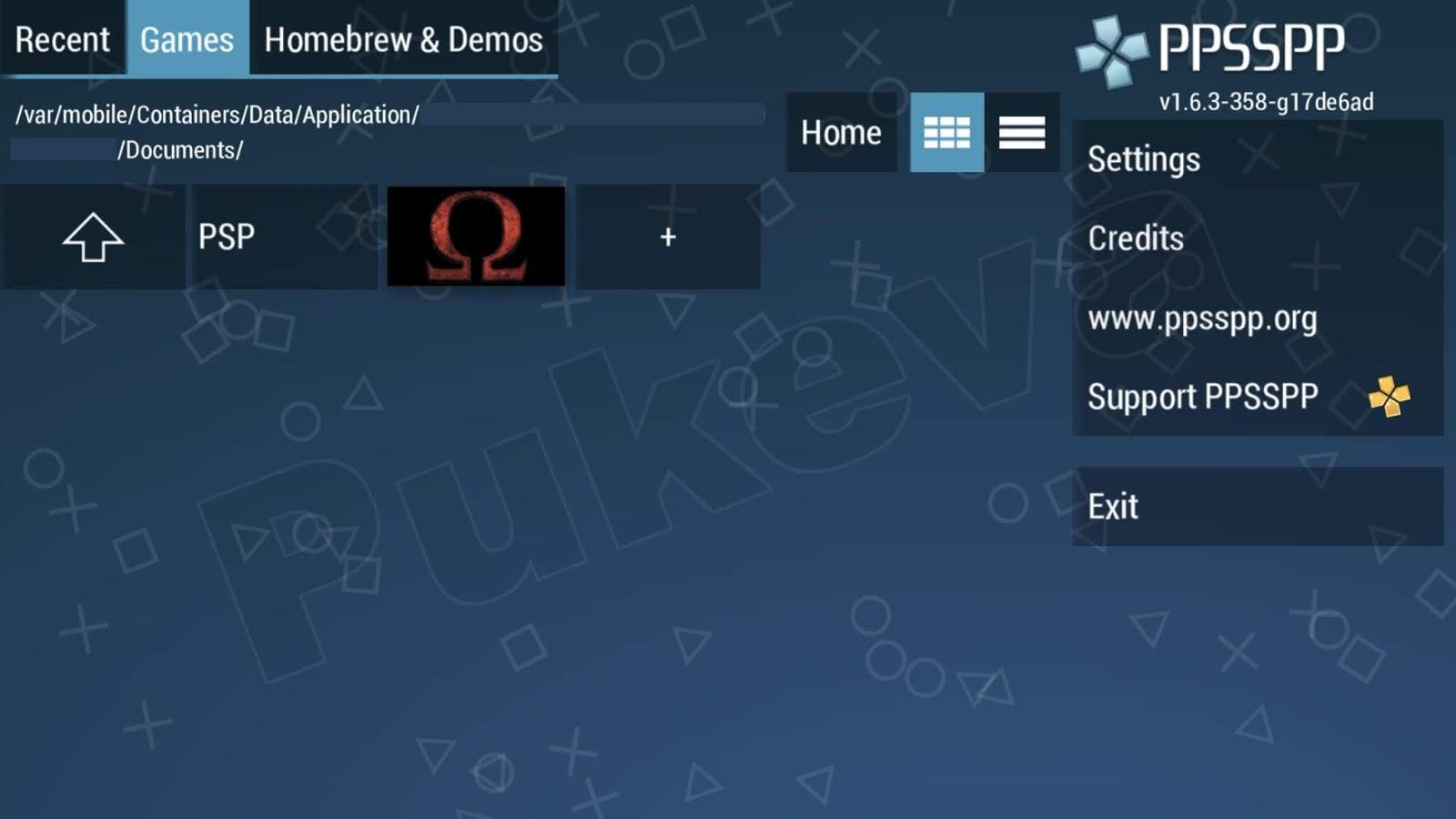 Cara Install Emulator PPSSPP di iOS iPhone dan iPad Tanpa