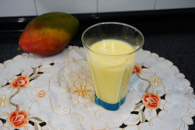 Zumo de mango del Chad