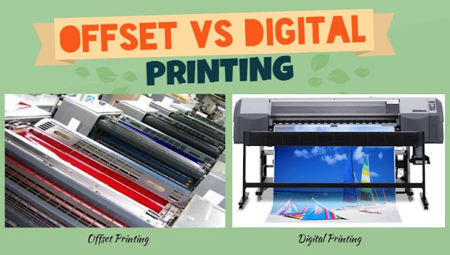 Offset Printing Vs. Digital Printing - a comparison