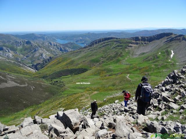 Bajando al Valle Pincuejo