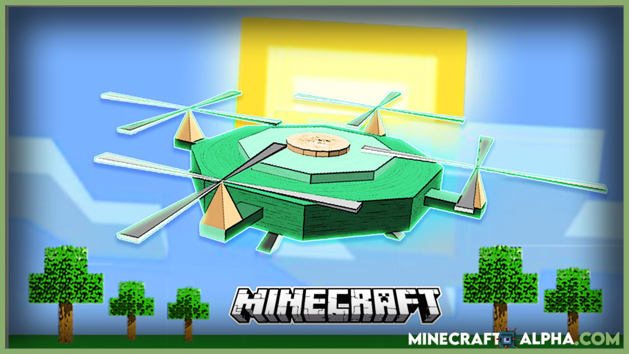 Drones Mod For Minecraft (Unmanned Aerial Vehicle)