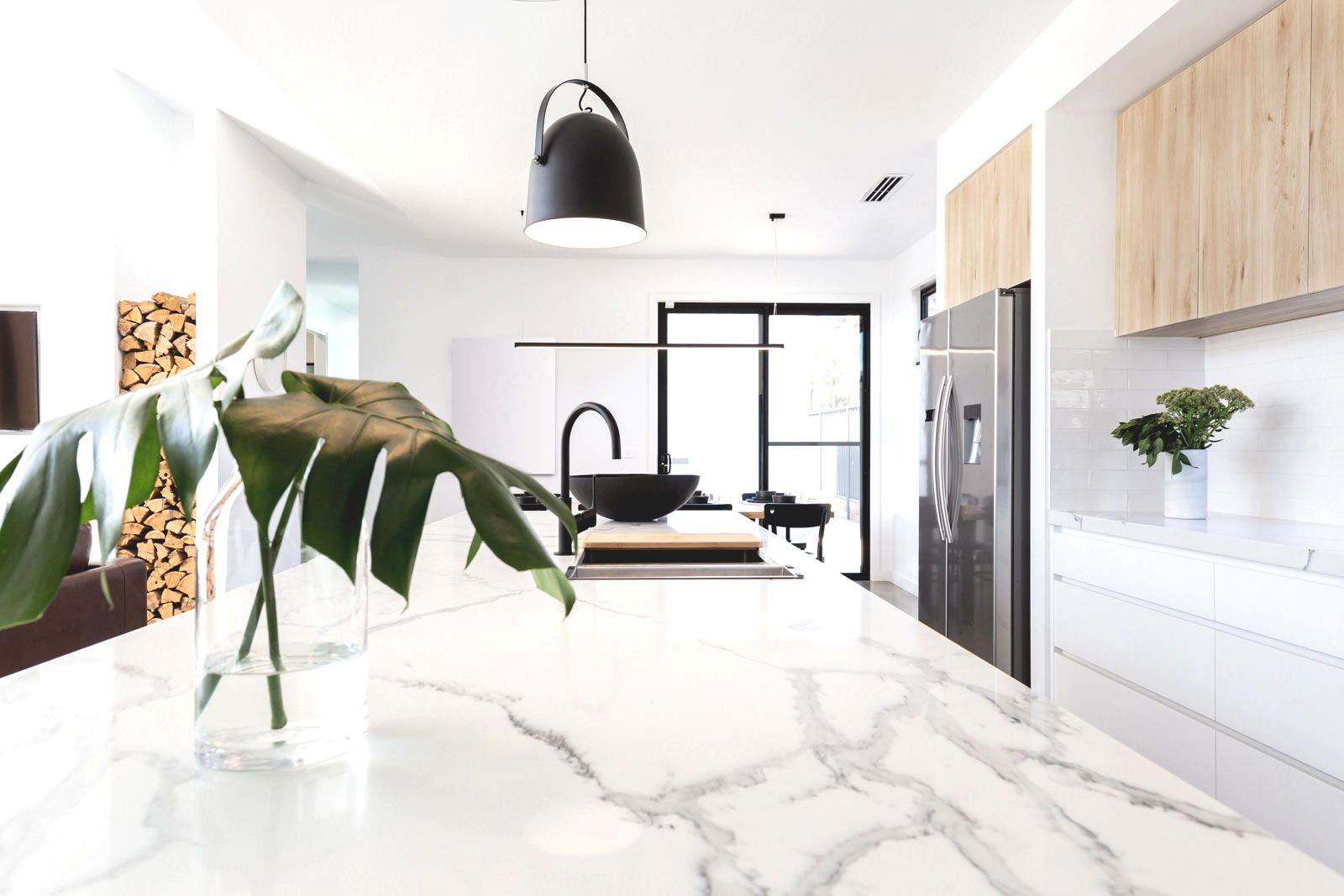 marble kitchen top
