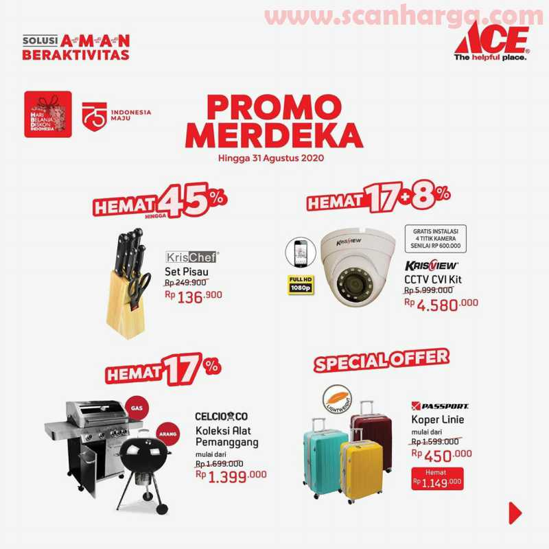 Ace Hardware Promo Merdeka Special Offer Hemat Hingga 45%