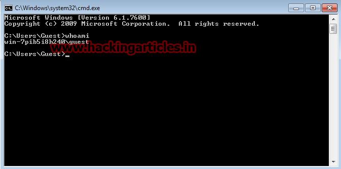 hack windows 7 admin password