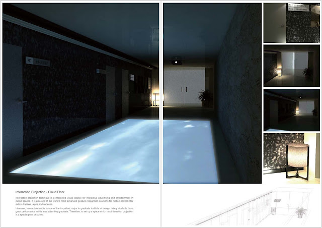 國立臺灣師範大學綜合大樓互動走廊空間設計,梁又文老師設計作品集,空間設計篇2