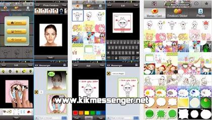KIk Memes & Emoticon+ para Kik Messenger