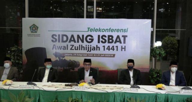 Pemerintah: Idul Adha 1441 H Jumat 31 Juli 2020 M