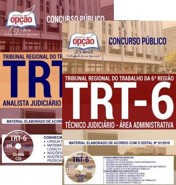 apostila TRT 6ª Região 2018 Analista e Técnico Judiciário
