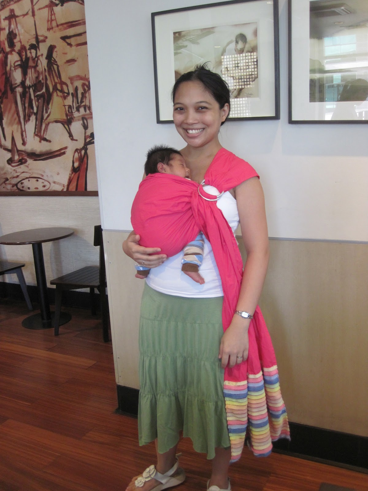 Chronicles Of A Nursing Mom Babywearing Safely Legs Out Position
