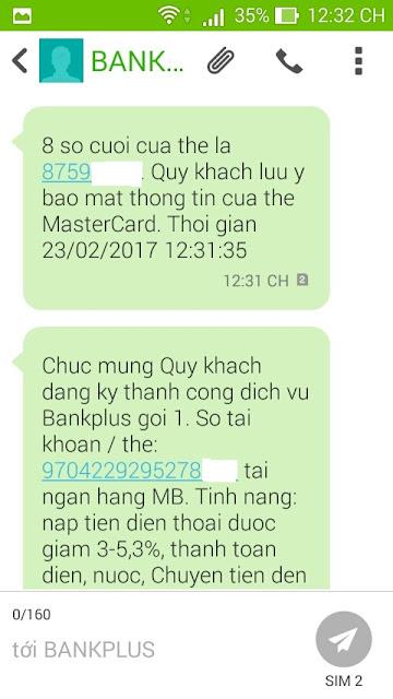 Tạo thẻ master card
