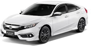 Kenaikan Harga Honda Civic yang ke-2