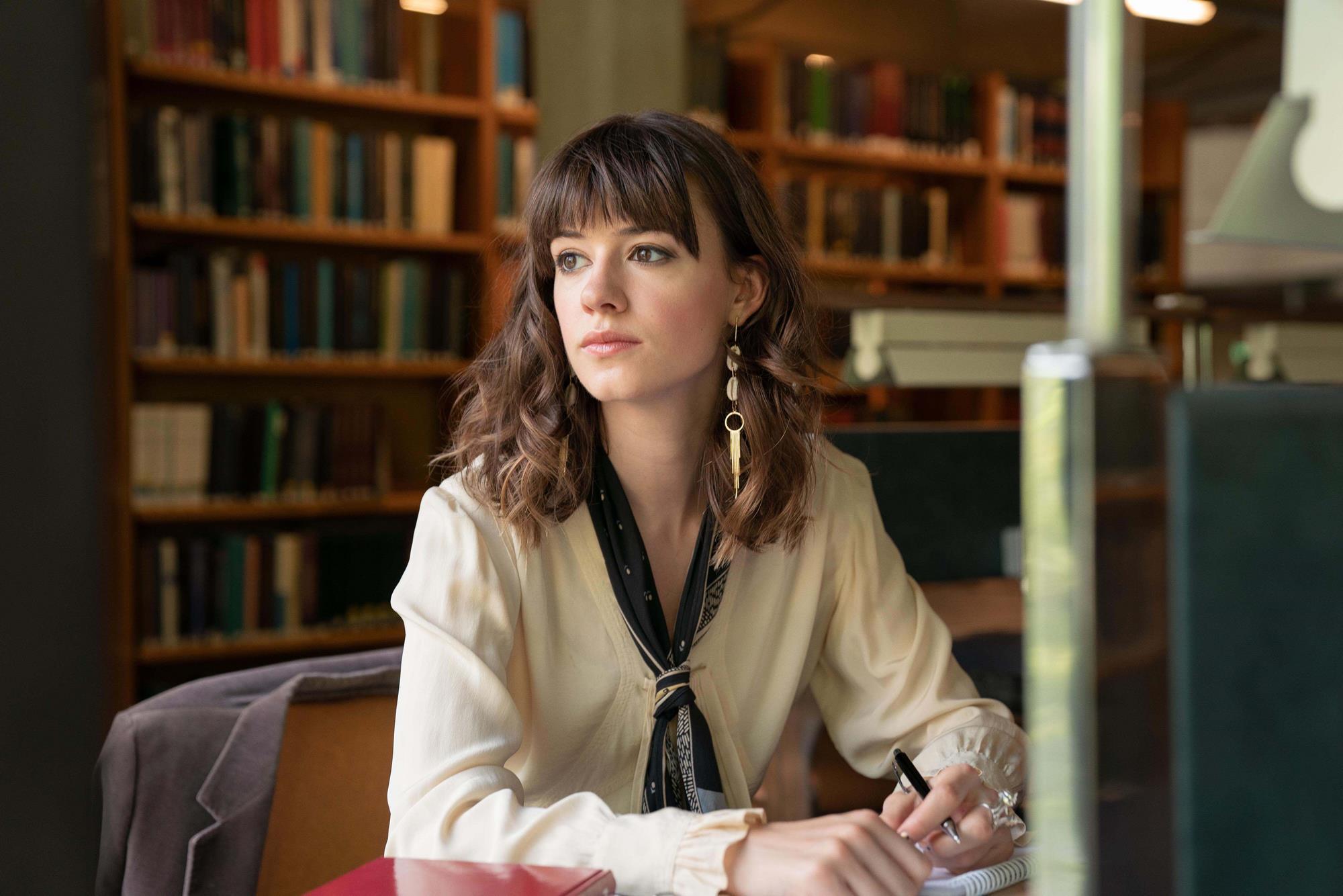 Daisy Edgar-Jones en una escena de 'Normal People', serie de Starzplay