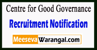 CGG Centre for Good Governance Recruitment Notification 2017 Last Date 24-06-2017